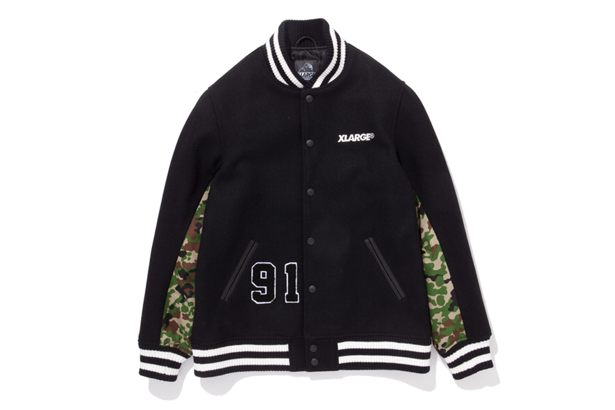 "Image of XLARGE 2013 Holiday ""00-99"" Varsity Jacket"