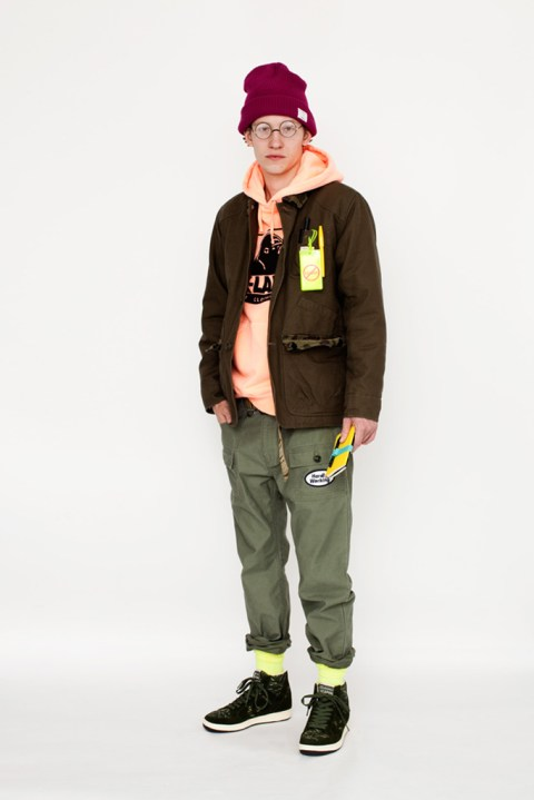 Image of XLARGE® x Converse Japan 2013 Holiday Lookbook