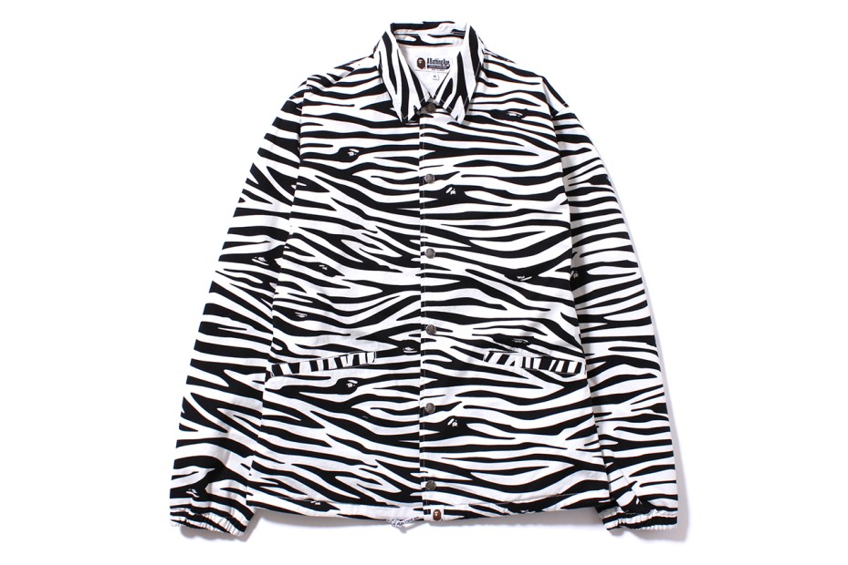 Image of A Bathing Ape 2014 Spring Zebra Pattern Collection