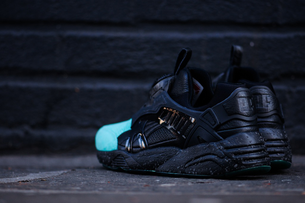 "Image of A Closer Look at the Ronnie Fieg x PUMA Disc Blaze Lite ""Coat of Arms"""