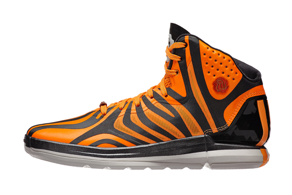 Image of adidas D Rose 4.5 Orange/Black