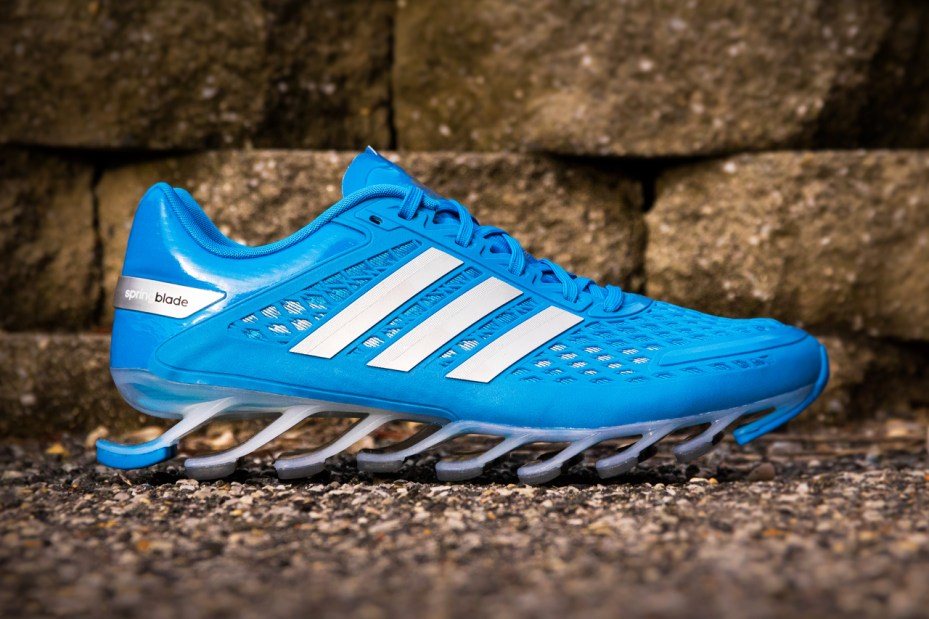 Image of adidas Springblade Razor Solid Blue & Black/Silver/Red