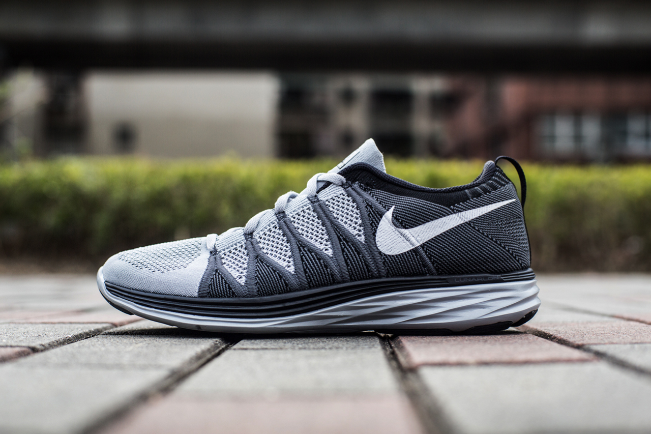 "Image of An Exclusive Look at the Nike Flyknit Lunar 2 ""Wolf Grey"""