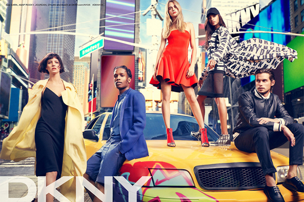 Image of A$AP Rocky Features in DKNY's Latest Campaign