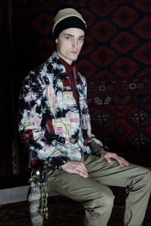 Image of audience by PETROU\MAN 2014 Fall/Winter Lookbook