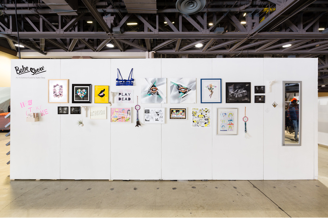 Image of Babe Show: An Art Exhibition Curated by Sophia Chang at Agenda Long Beach Recap