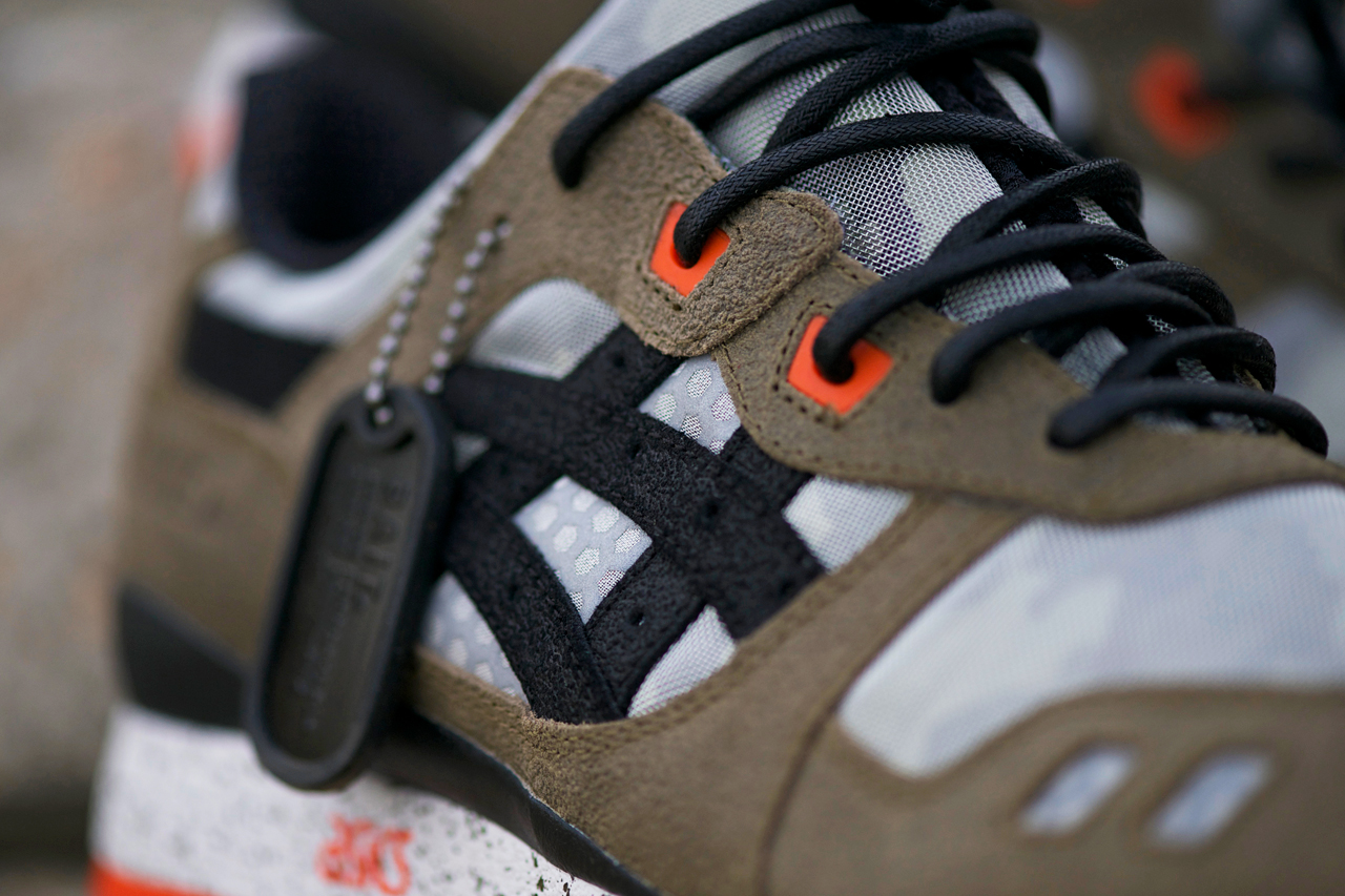 """Image of An Exclusive Look at the BAIT x ASICS Gel Lyte III """"Basics Model-002 Guardian"""""""
