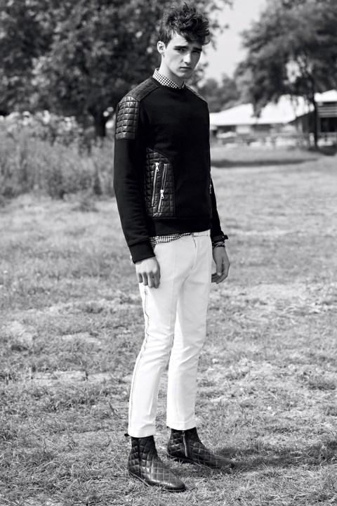 Image of Balmain Homme 2014 Spring/Summer Lookbook