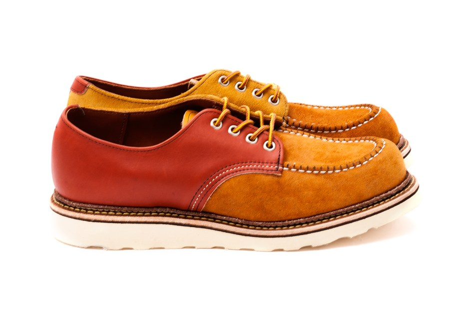 Image of BEAUTY&YOUTH UNITED ARROWS x Red Wing 25th Anniversary Crazy Oxford