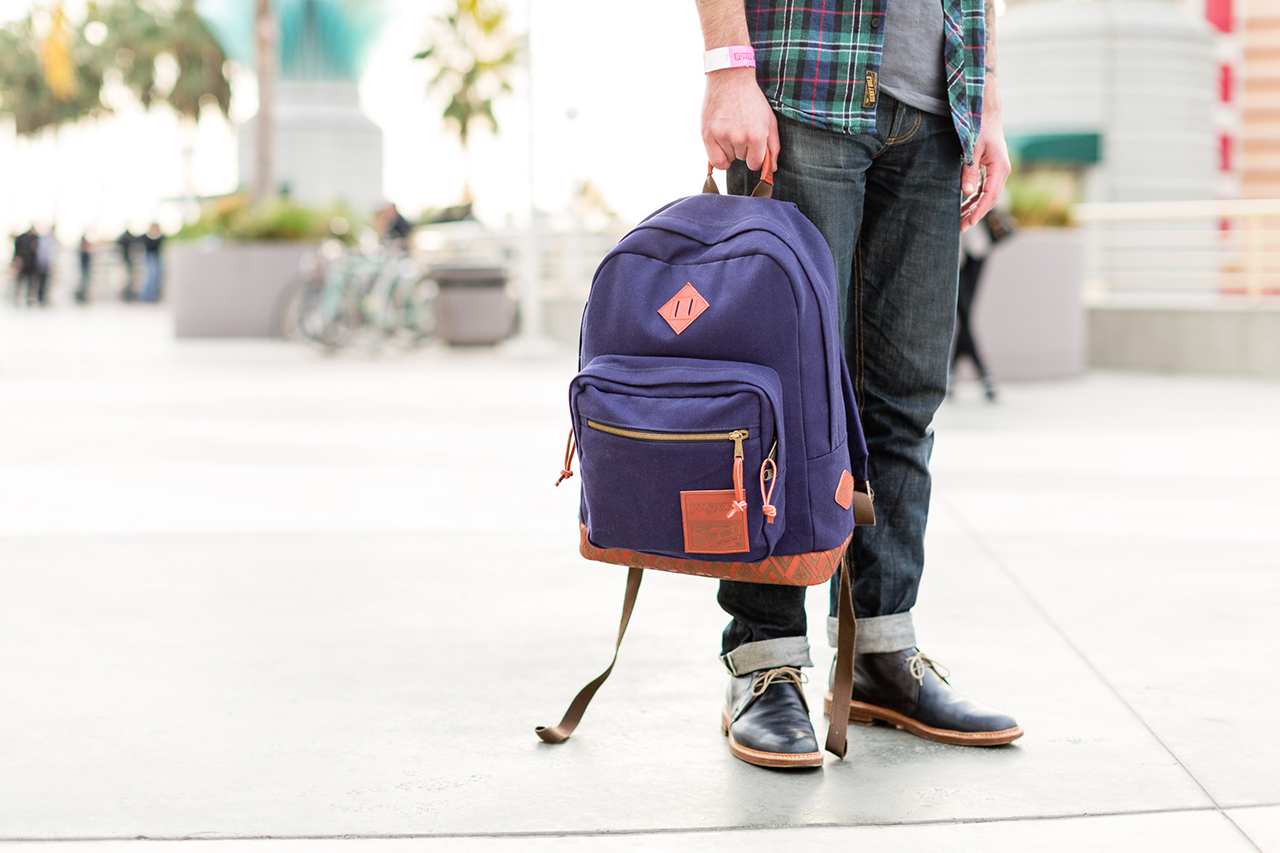 Image of Benny Gold & HUF x JanSport 2014 Fall/Winter Capsule Collection Preview at Agenda Long Beach