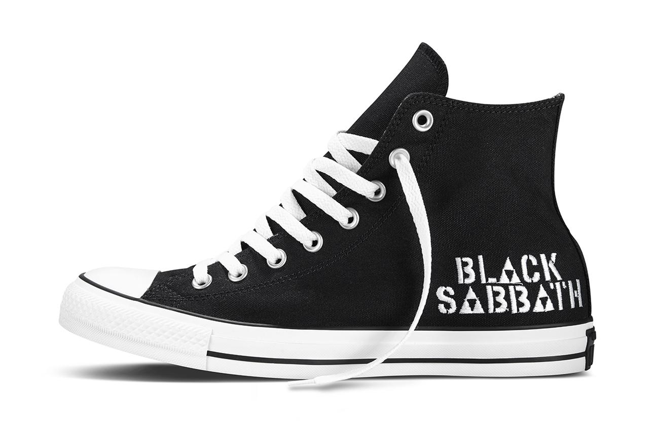Image of Black Sabbath x Converse 2014 Spring Collection