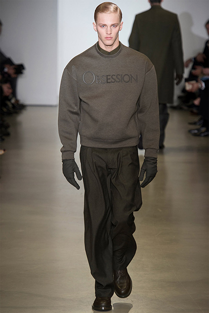 Image of Calvin Klein 2014 Fall/Winter Collection