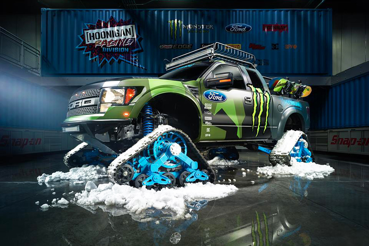 Image of Check Out Ken Block's New Winter Ride
