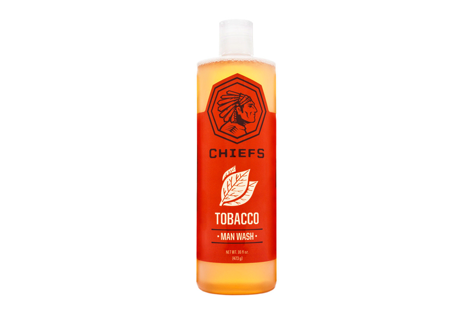 Image of Chiefs Tobacco Man Wash