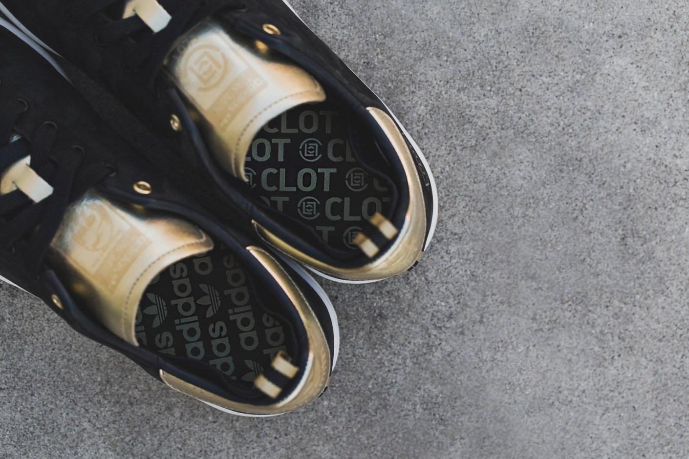 Image of CLOT x adidas Originals Stan Smith