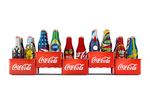 Image of Coca-Cola Special Edition World Cup 2014 Mini Bottles