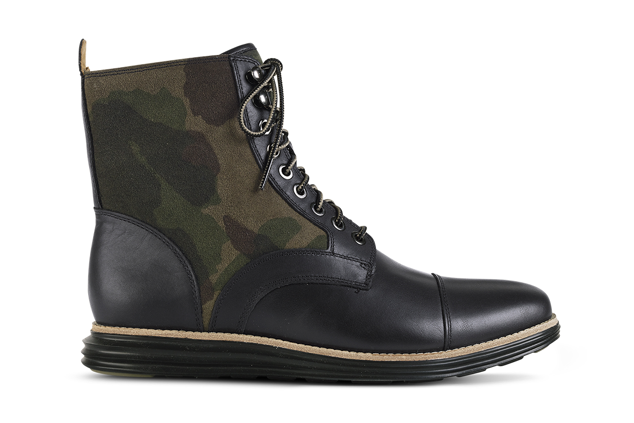 Image of Cole Haan 2014 Spring LunarGrand Camouflage Lace Boot