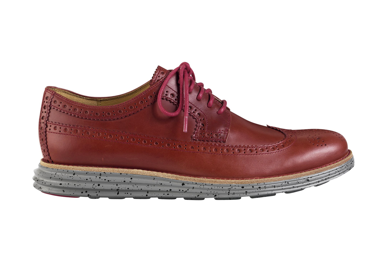 Image of Cole Haan 2014 Spring Lunargrand Long Wingtip Collection