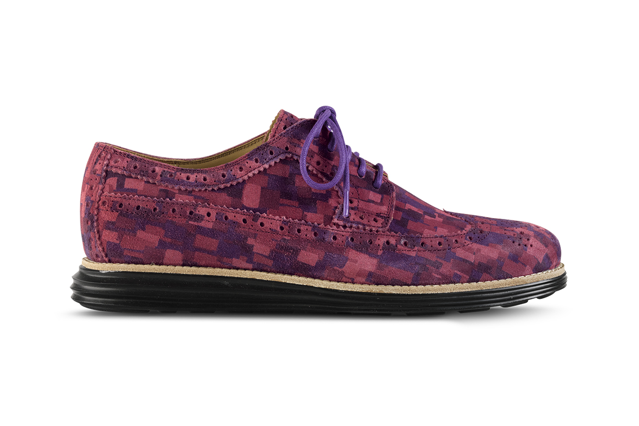 Image of Cole Haan 2014 Spring LunarGrand Multi Mosaic Camo Collection