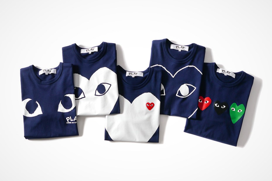 Image of COMME des GARÇONS PLAY 2014 Spring/Summer Collection