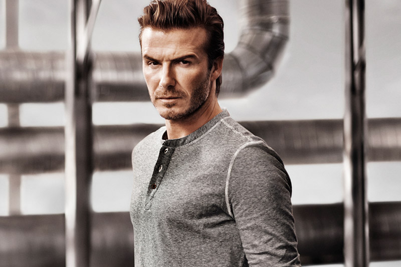 Image of David Beckham Bodywear for H&M 2014 Spring Campaign