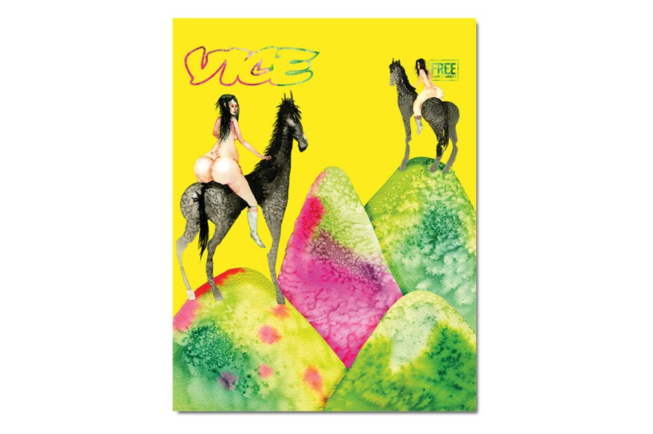 "Image of David Choe Covers VICE Magazine's ""The Horse Is a Horse of Course of Course"" Issue"