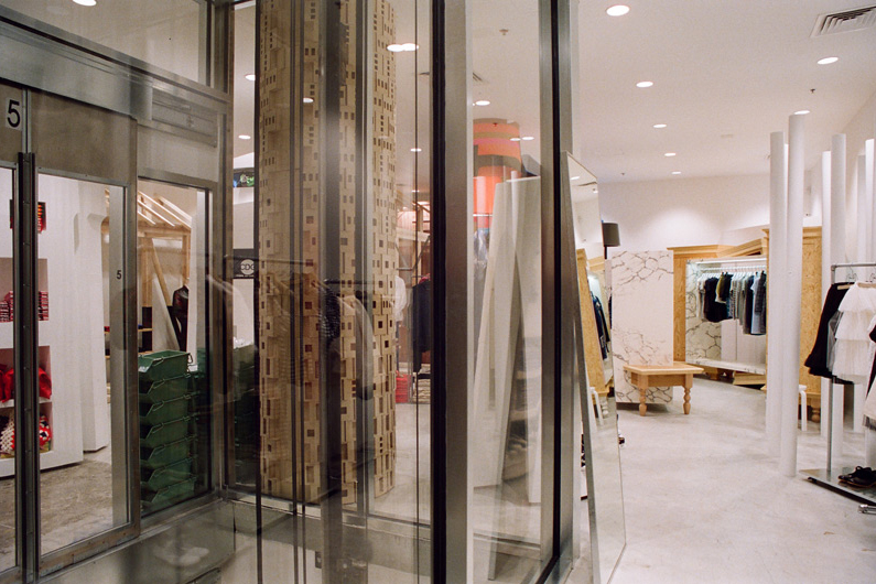 "Image of Dover Street Market New York ""Store Story"" by Ari Marcopoulos"