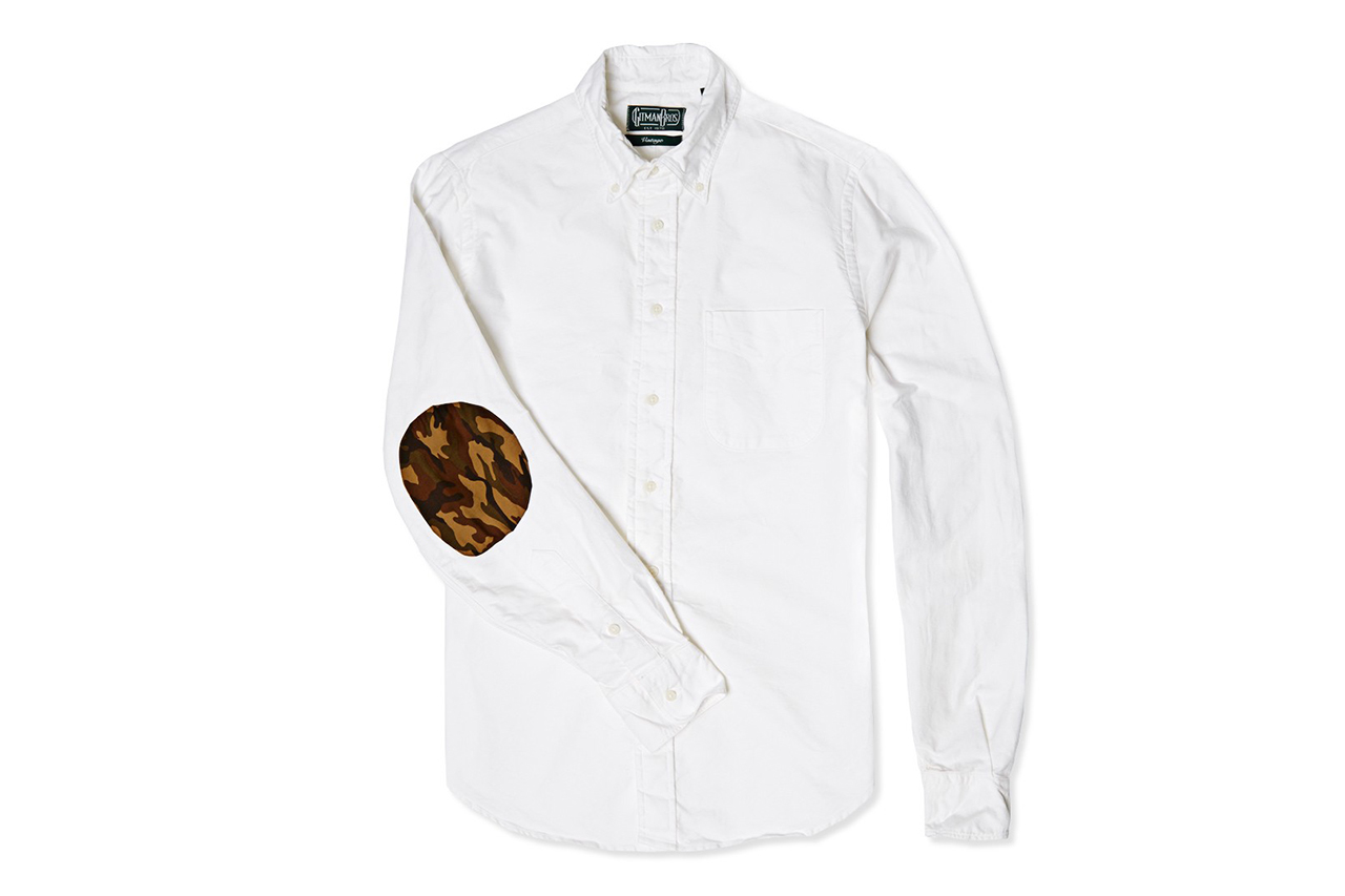 Image of End x Gitman Vintage Elbow Patch Oxford Shirt