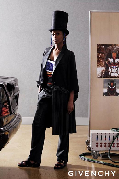 Image of Givenchy 2014 Spring/Summer Campaign Featuring Erykah Badu