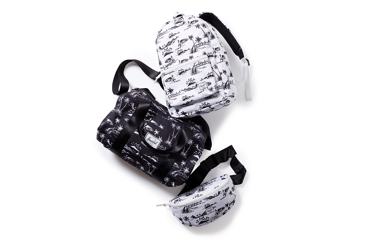 "Image of Herschel Supply Co. for Beauty & Youth 2014 ""Aloha"" Collection"
