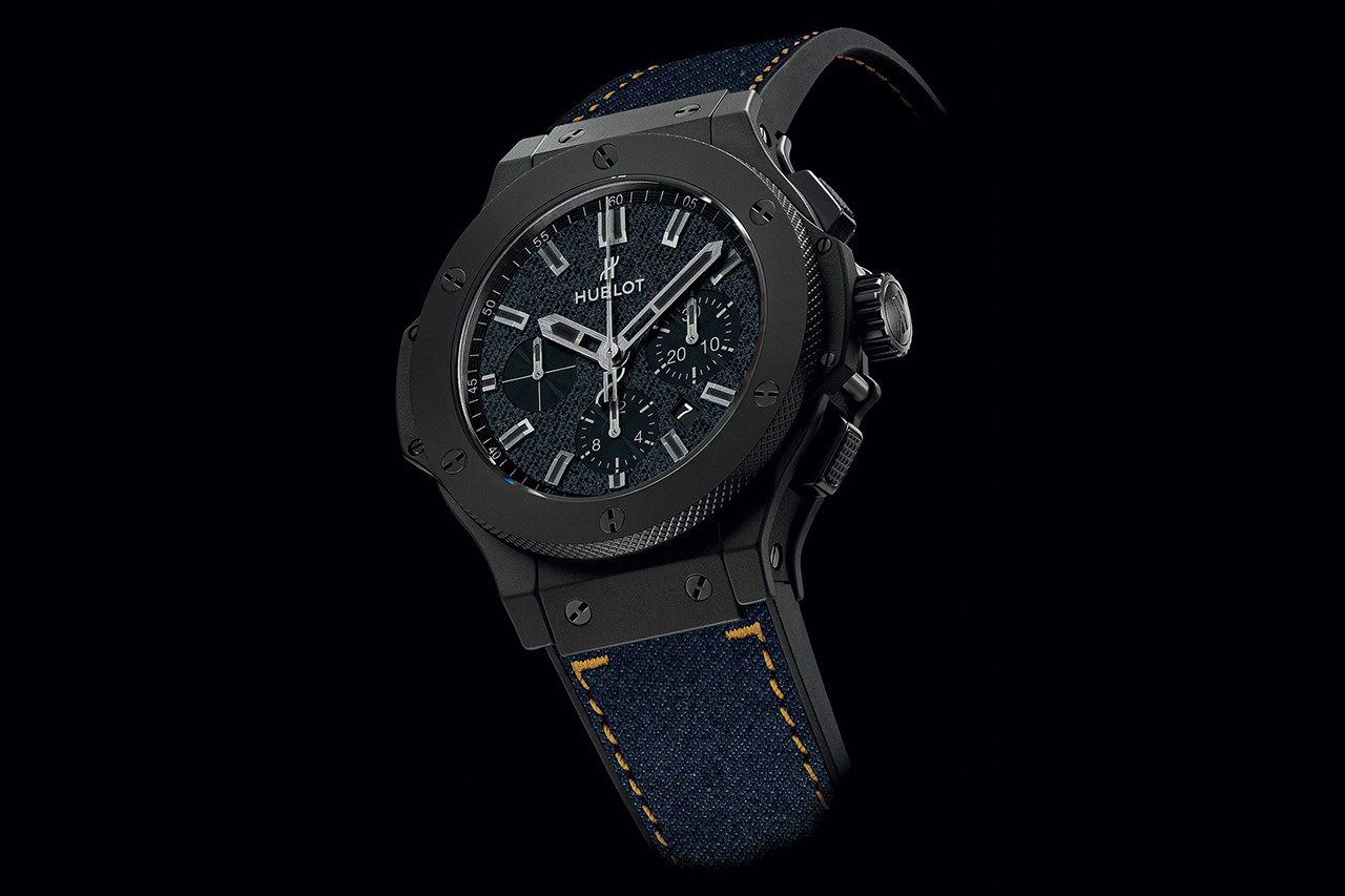 Image of Hublot Big Bang Jeans Limited-Edition Chronograph