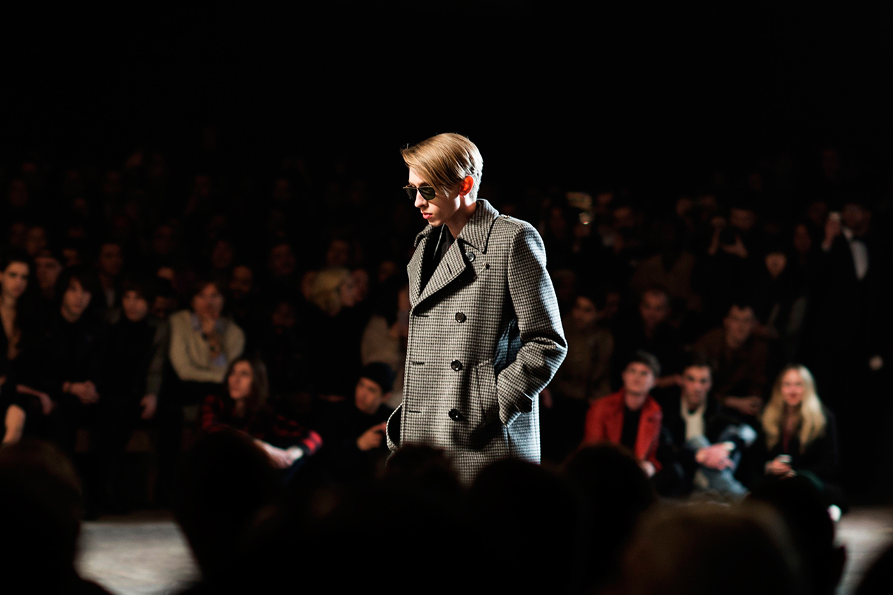 Image of HYPEBEAST and Dapper Lou Check Out Saint Laurent's 2014 Fall/Winter Runway Show