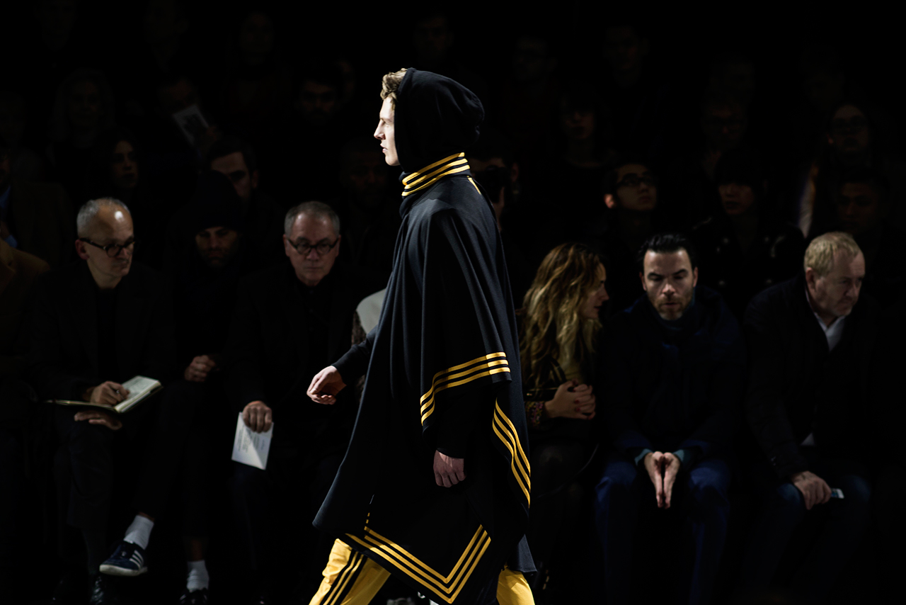 Image of HYPEBEAST and Dapper Lou Check Out Y-3's 2014 Fall/Winter Runway Show