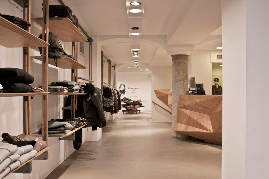Image of Inside the iuter Store in Milan, Italy