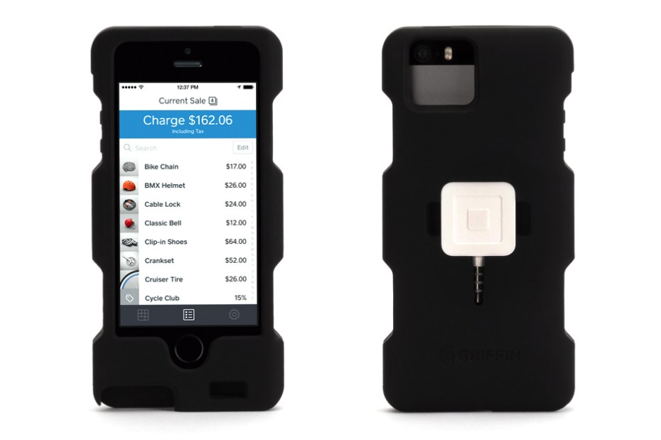 Image of iPhone 5 Case with Square Card Readers by Griffin
