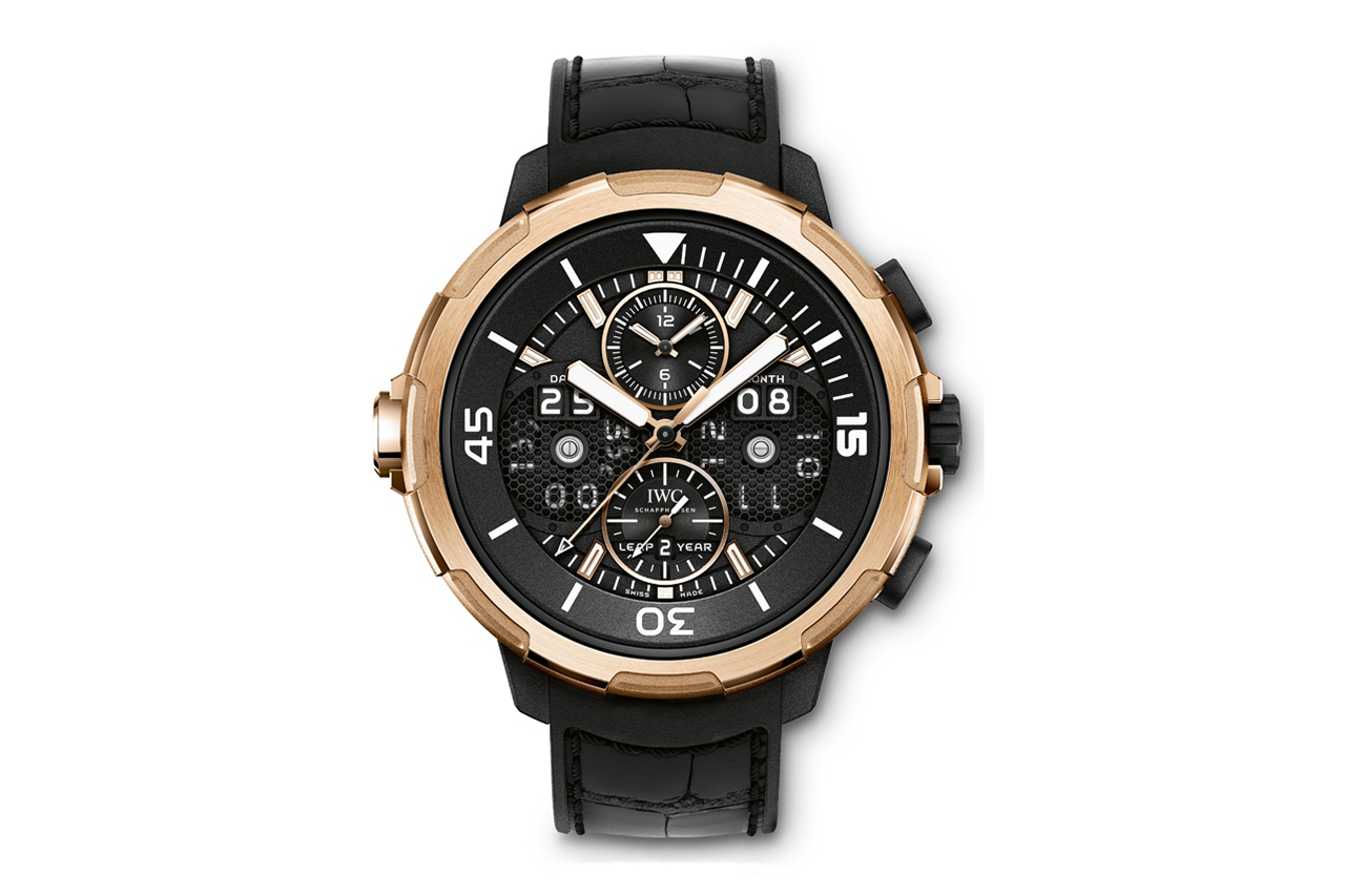 Image of IWC Aquatimer Perpetual Calendar Digital Date Month