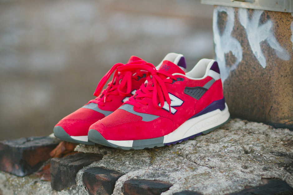 "Image of J.Crew x New Balance 2014 Spring 998 ""Inferno"""