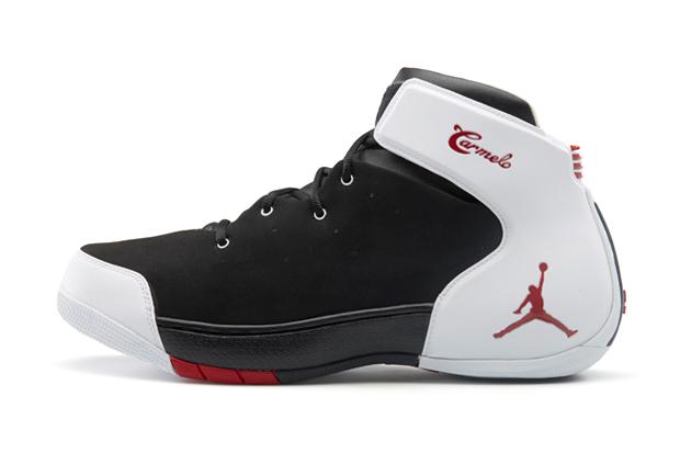 Image of Jordan Melo 1.5 Black/Gym Red-White