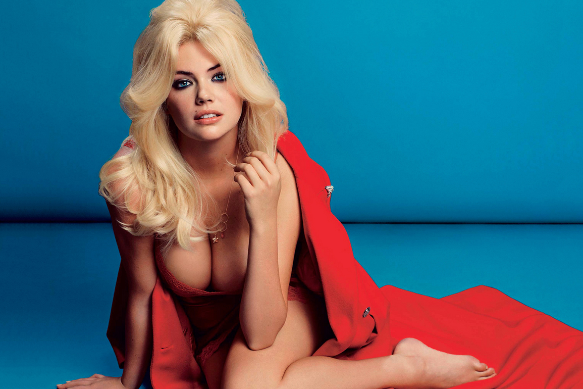 Image of Kate Upton by Inez & Vinoodh for V Magazine