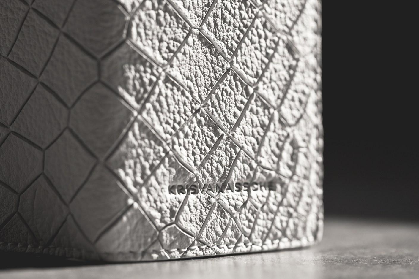 """Image of KRISVANASSCHE 2014 Spring/Summer """"Croc Skin"""" Accessories"""