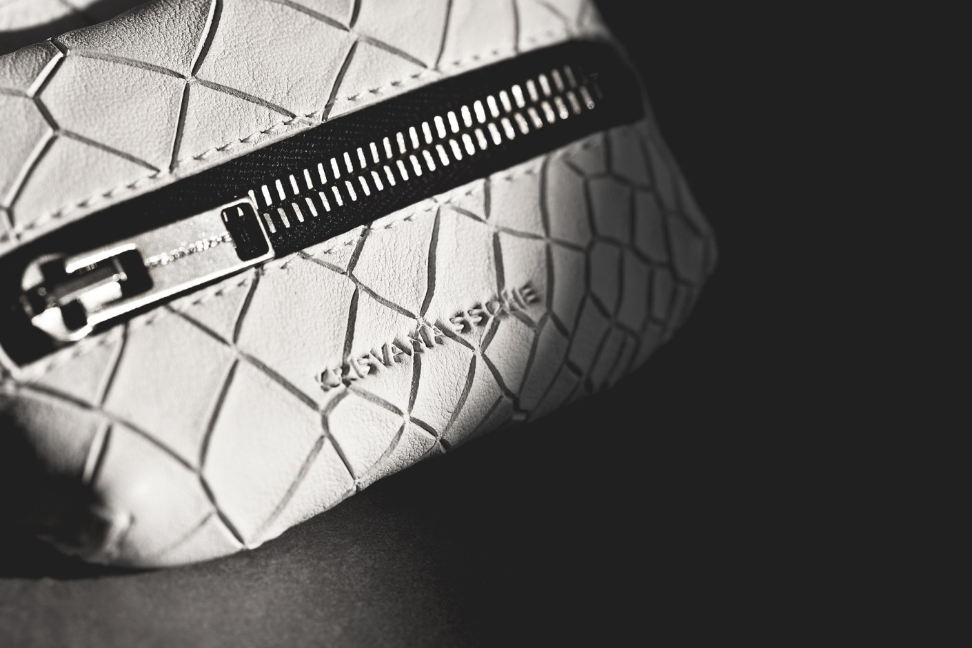 "Image of KRISVANASSCHE 2014 Spring/Summer ""Croc Skin"" Accessories"