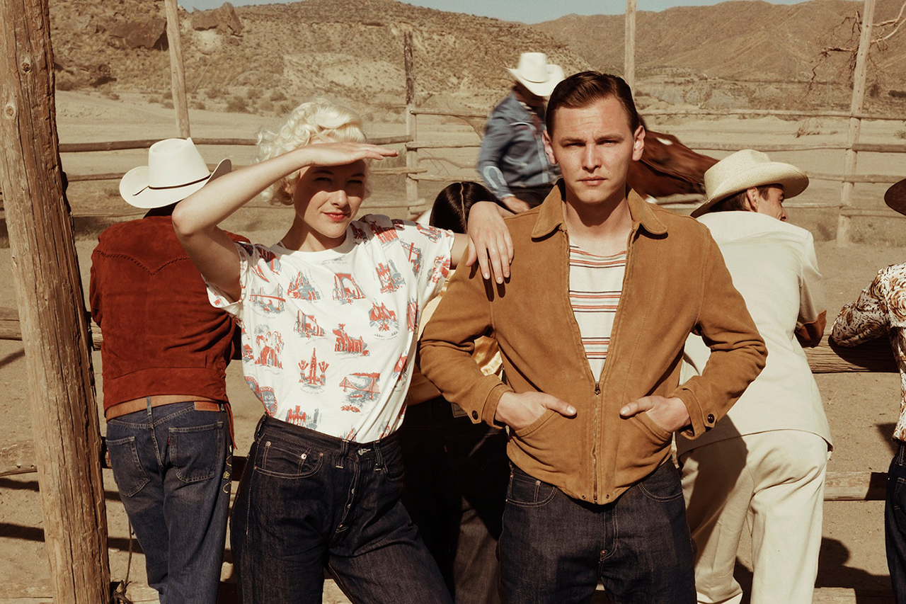 "Image of Levi's Vintage Clothing 2014 Spring/Summer ""Treasure Island"" Lookbook"