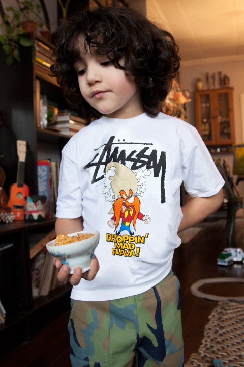Image of Looney Tunes x Stussy Kids 2014 Spring/Summer Collection