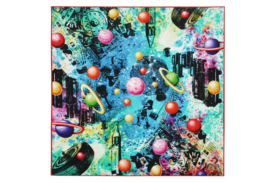Image of Louis Vuitton 2014 Spring/Summer Foulards D'Artistes Series by André, Kenny Scharf & INTI