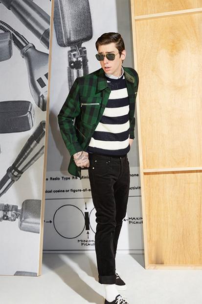 Image of Maison Kitsuné 2014 Fall/Winter Lookbook