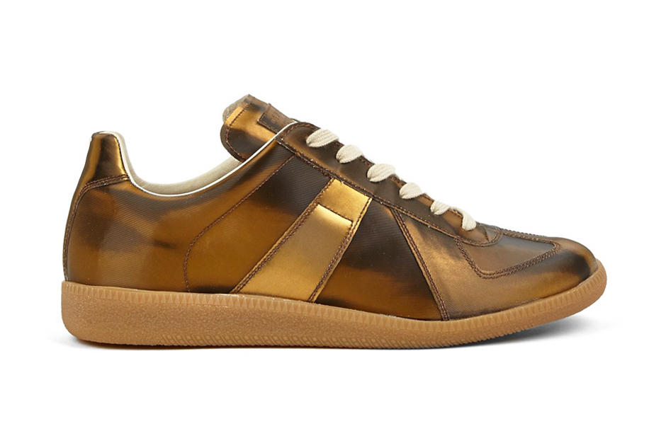 Image of Maison Martin Margiela 22 Gold Replica Sneakers