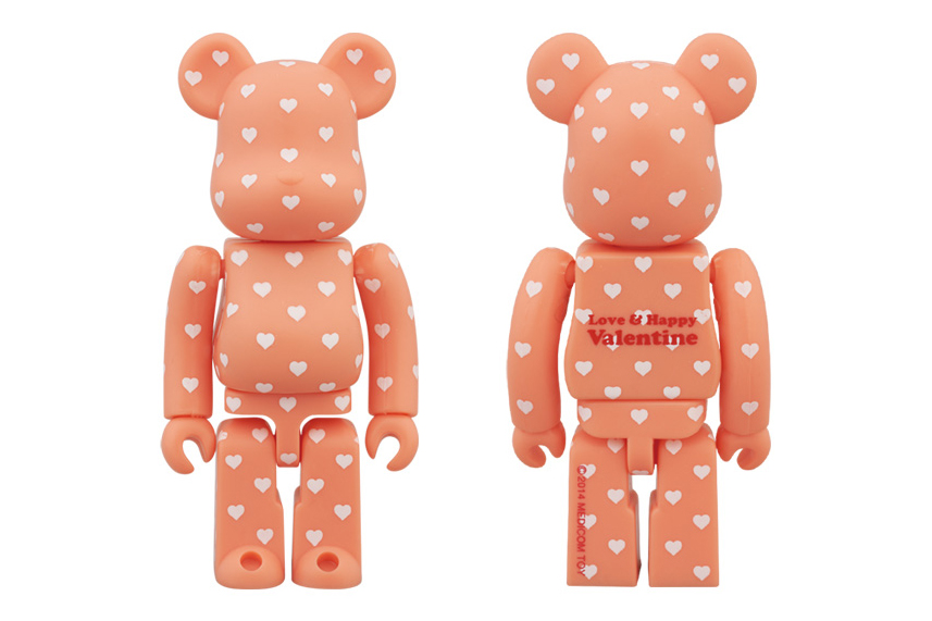 Image of Medicom Toy 2014 Valentine's Day 100% Bearbrick