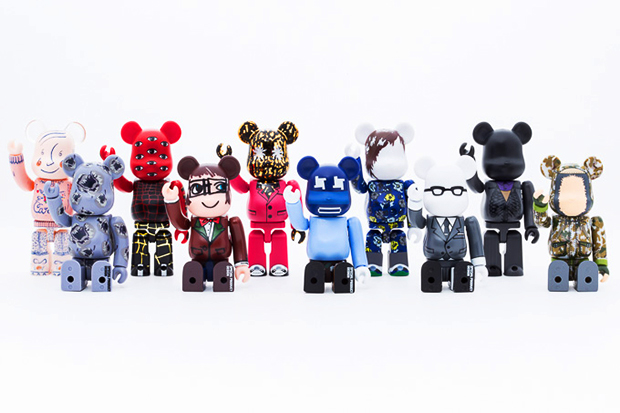 "Image of Medicom Toy Bearbrick ""10 Designers"" Collection Preview"