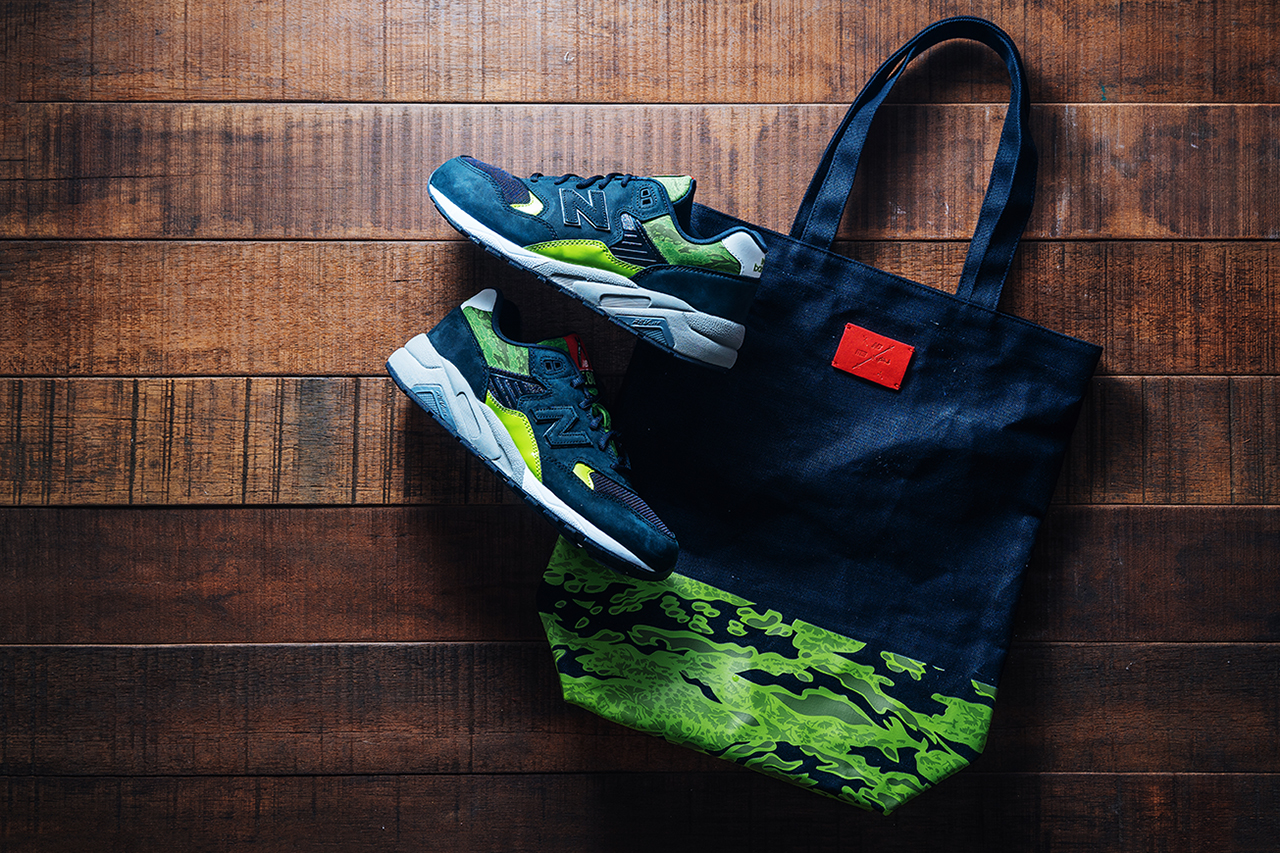 Image of mita sneakers x SBTG x New Balance x Fabrix MRT580SM Special Package