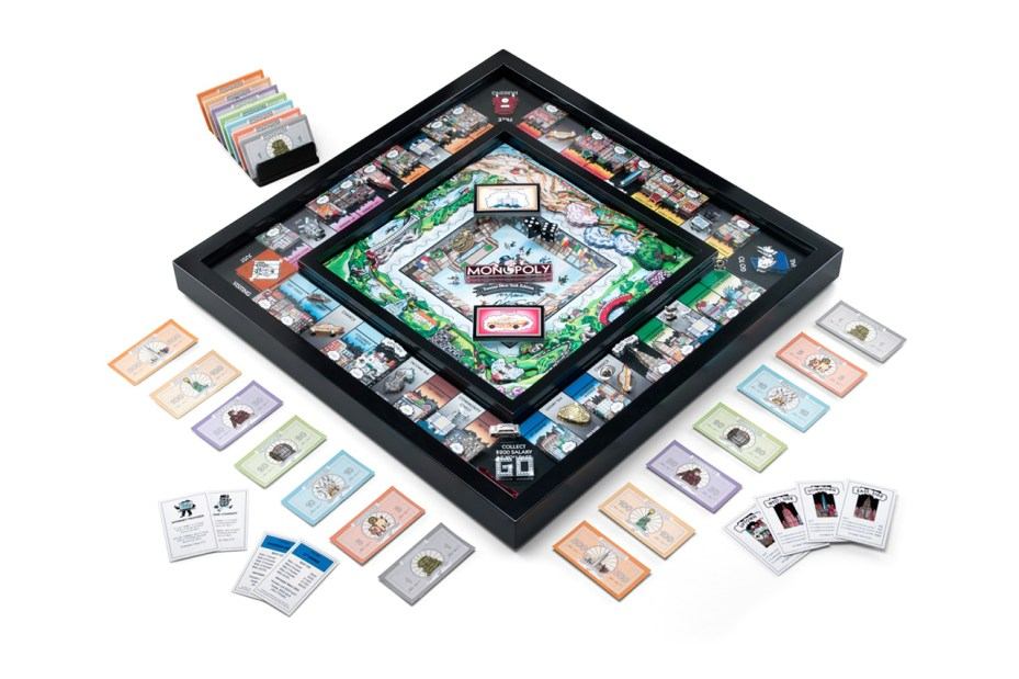 Image of Monopoly 3D New York Edition by Charles Fazzino